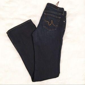 Ag Adriano Goldschmied dark wash angel jeans 27